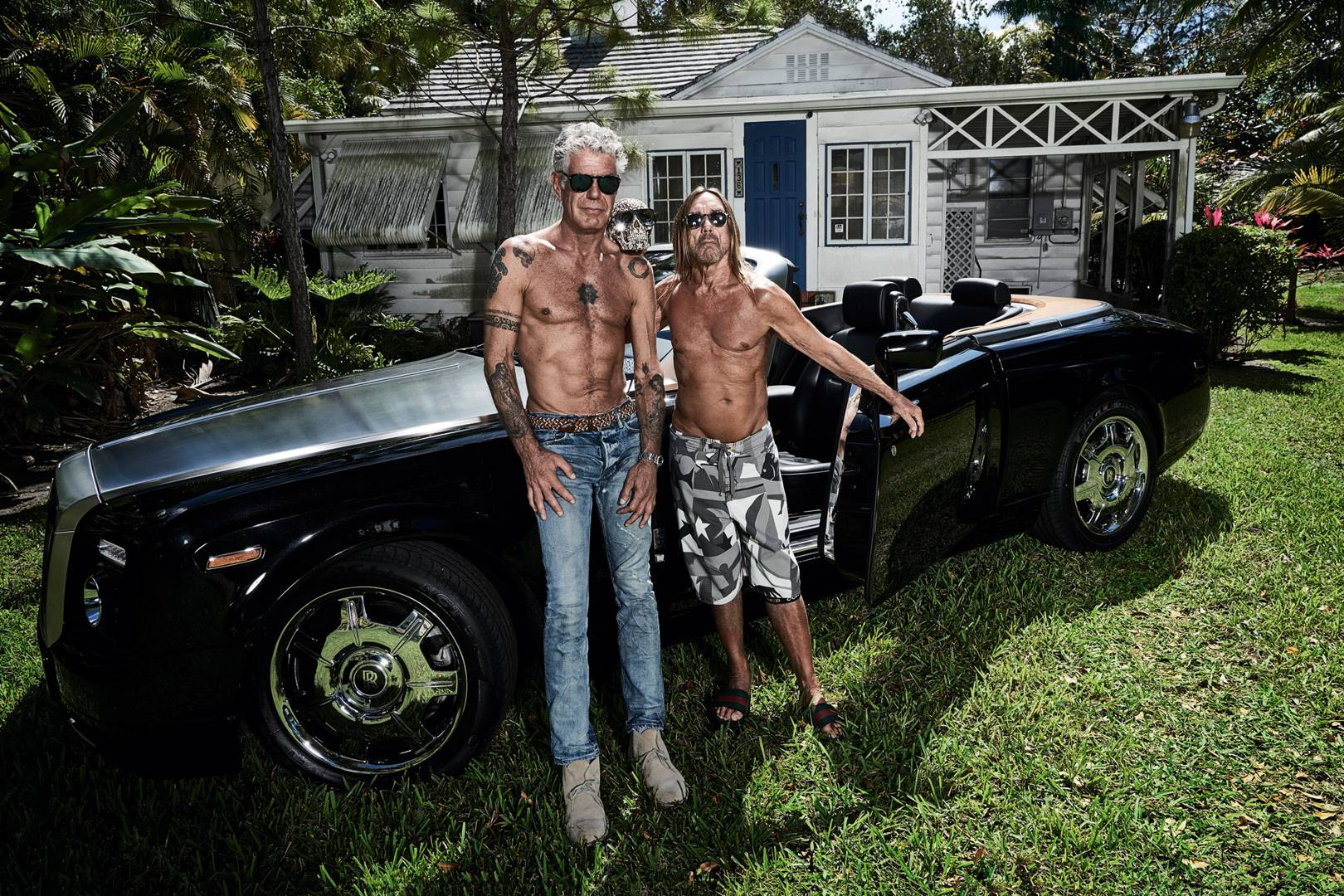 Anthony Bourdain And Iggy Pop Talk Music Mortality And Contentment - 3 british guys car show