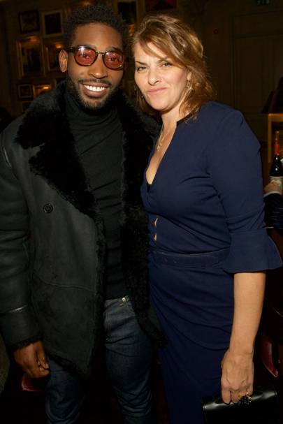 Tinie Tempah and Tracey Emin