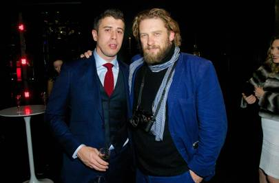 Toby Kebbell and Greg Williams