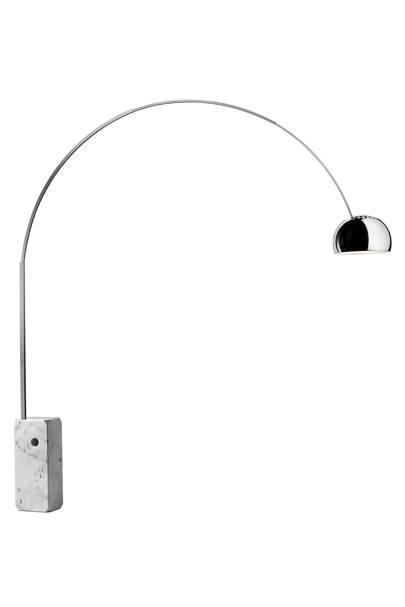Arco floor lamp by Flos