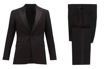 Mohair suit by Burberry