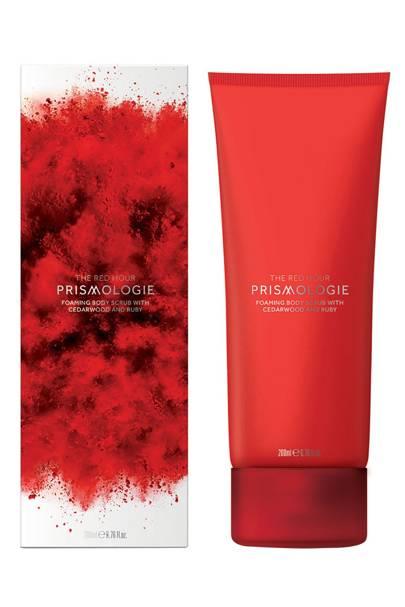 Prismologie Ruby and Cedarwood Invigorating Body Scrub
