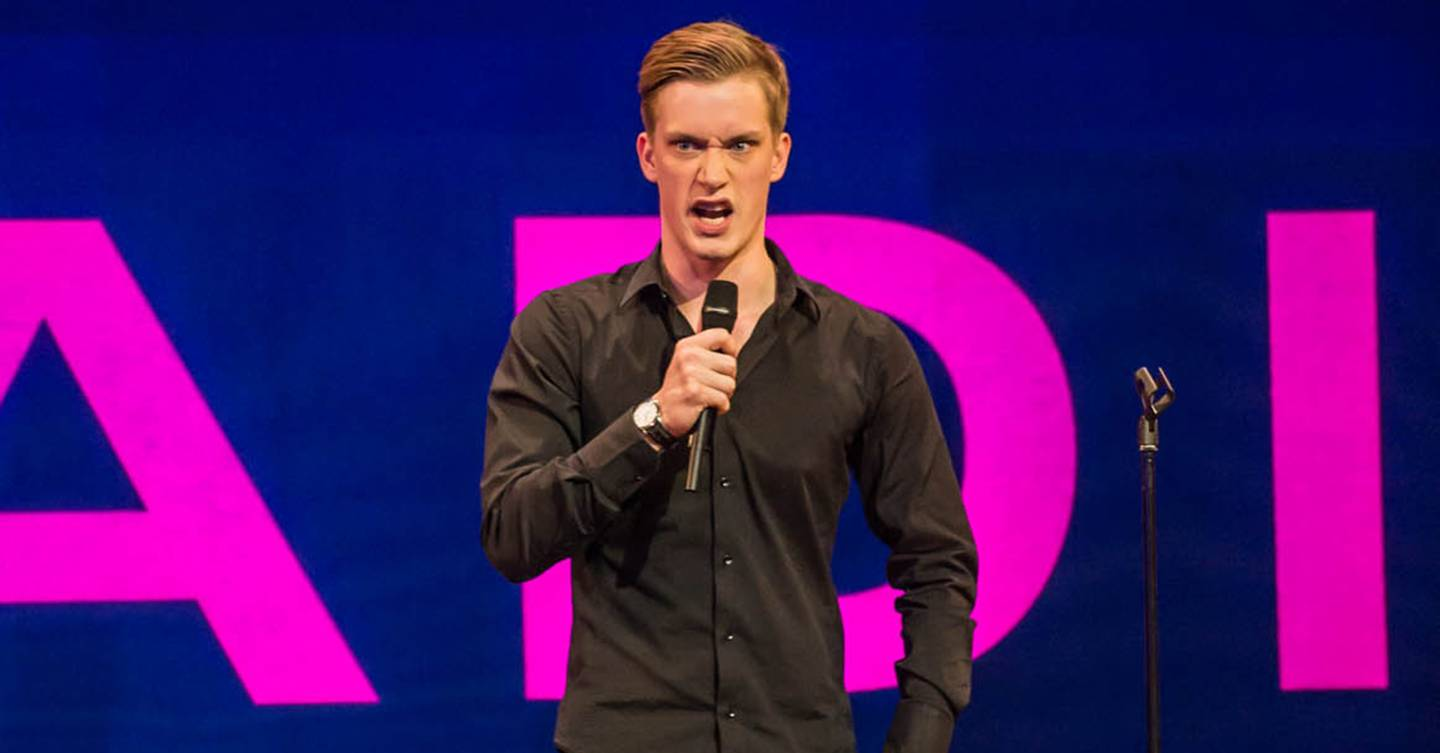 Daniel Sloss on how masculinity is changing in stand-up shows