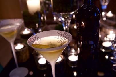 Guests enjoyed Belvedere Vodka Cocktails