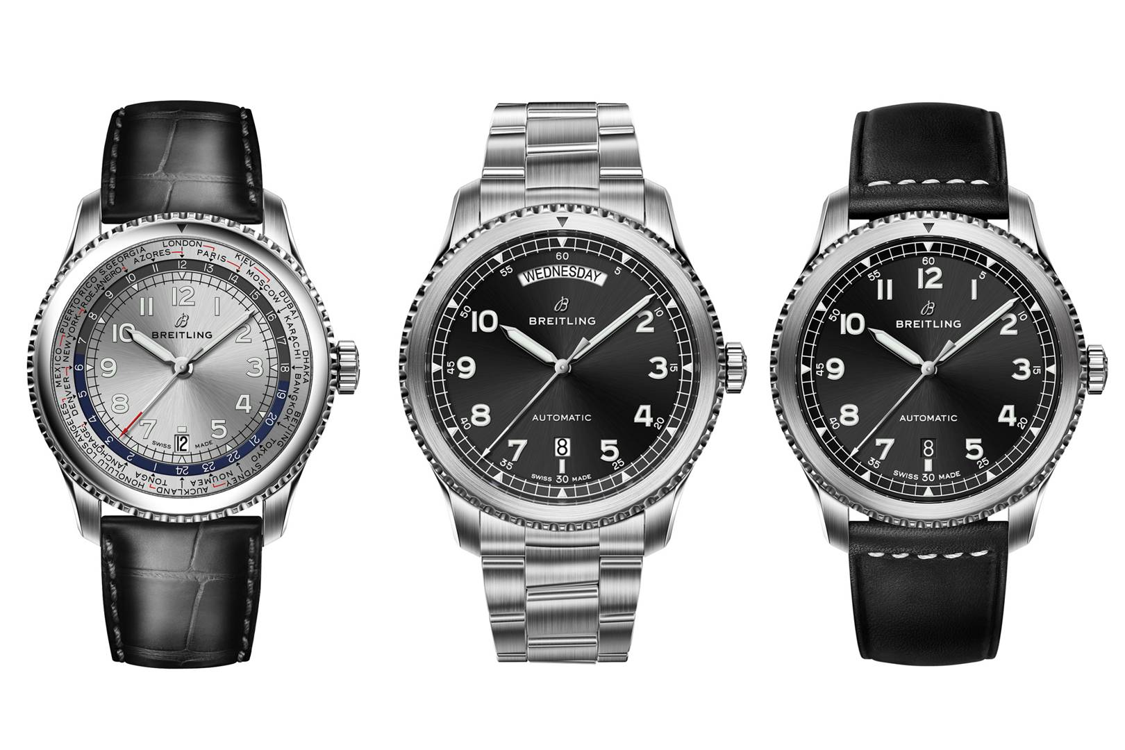 0d062c8c86e Watch brand Breitling unveils its latest Navitimer collection ...