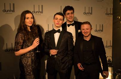 Alexa Morden, Jonah Hauer-King, Anthony Boyle and Conor Macneill