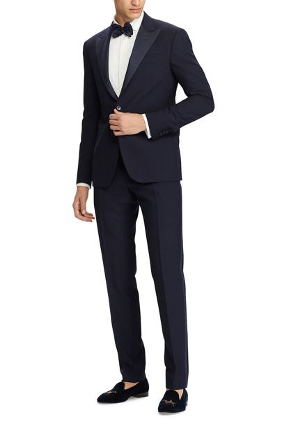 Navy wool tuxedo by Polo Ralph Lauren