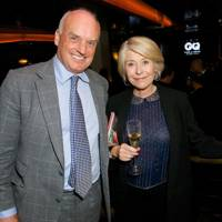 Condé Nast International President, Nicholas Coleridge and Gilly Mackwood