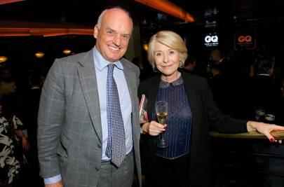 Condé Nast International President, Nicholas Coleridge and Gilly Mackwood