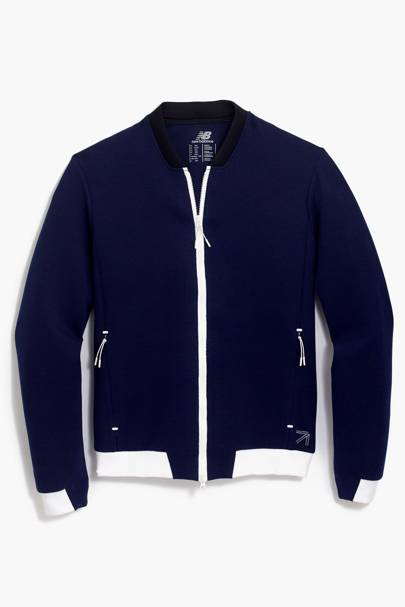 New Balance for J Crew coach's jacket