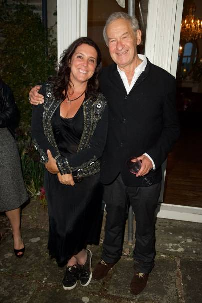 Bettany Hughes and Simon Schama