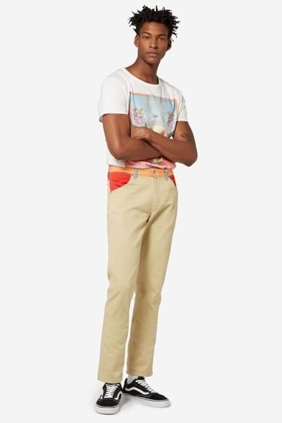 Wrangler x Peter Max straight-leg jeans