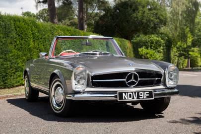 Mercedes SL W113 Pagoda