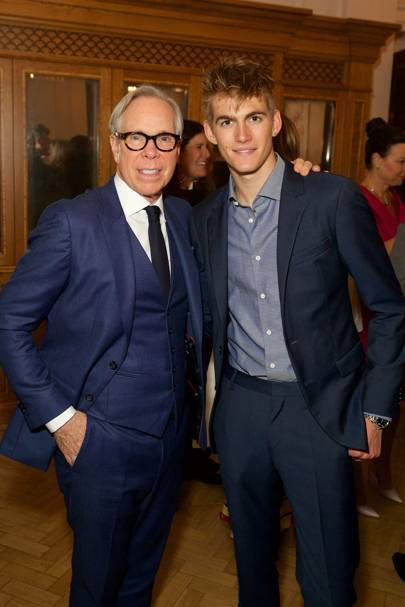 Tommy Hilfiger and Presley Gerber