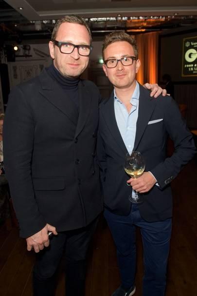 Mark Rogan and Adam Hyman