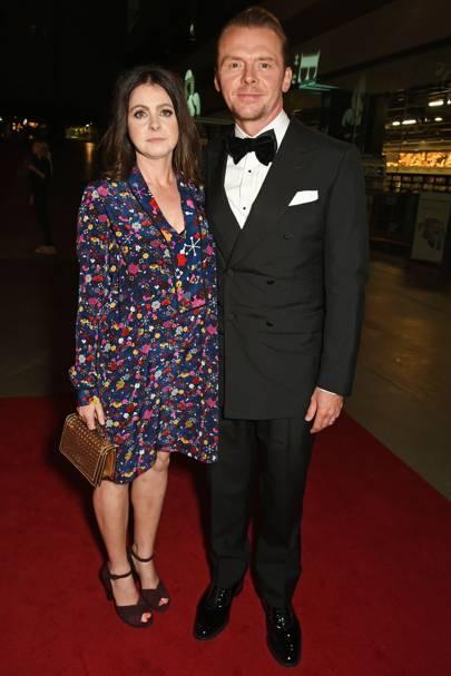 Maureen Pegg and Simon Pegg