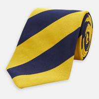 Block silk tie by Turnbull & Asser