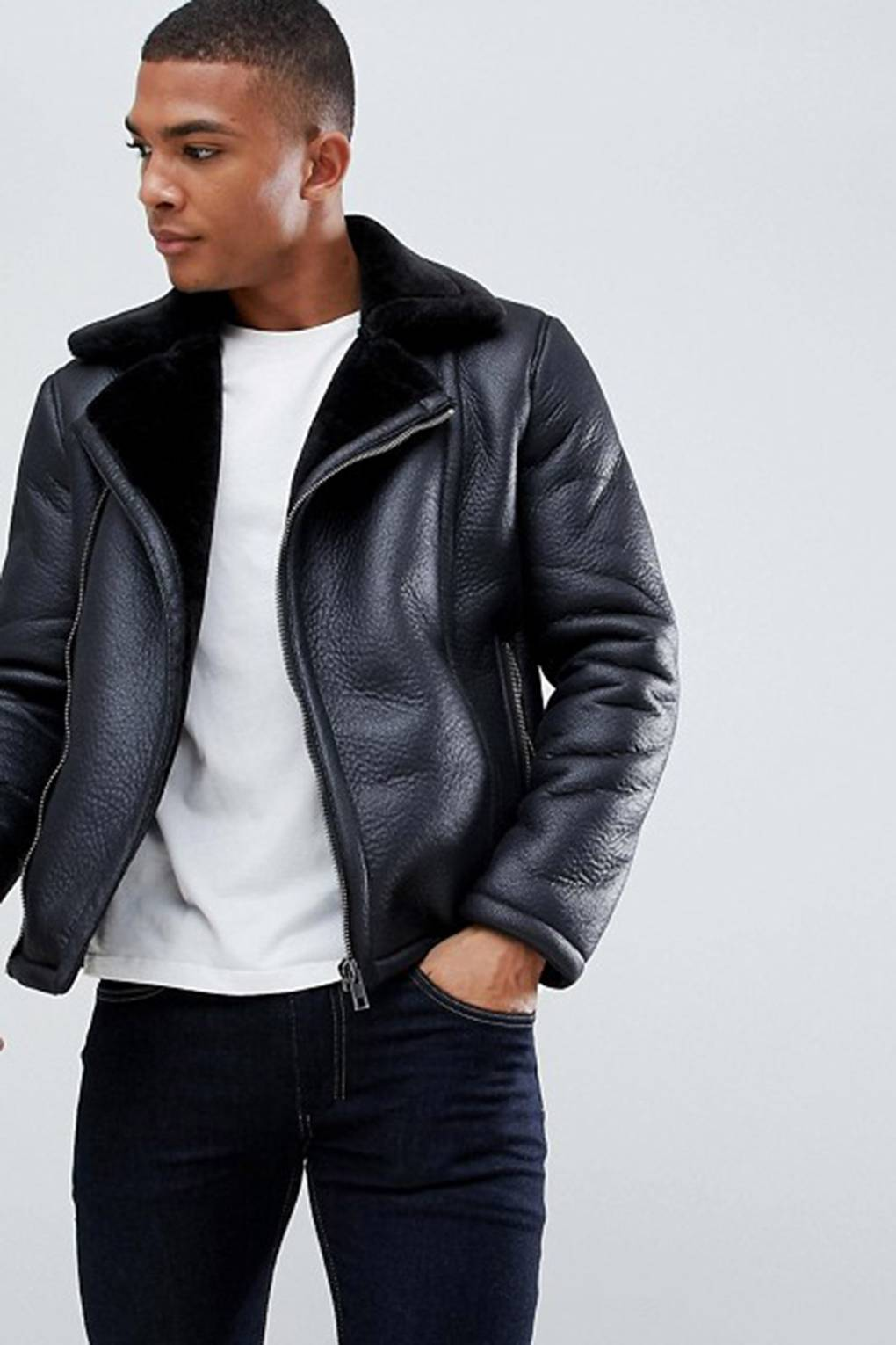 Men S Leather Jackets How To Look Good In Leather British Gq