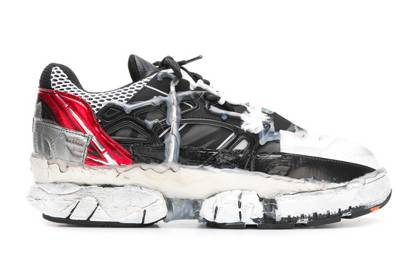 Melted detail sneakers by Maison Margiela