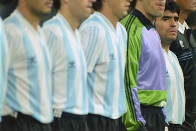 Diego Maradona, 1990