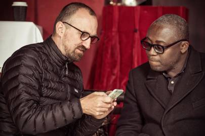 Tim Walker and Edward Enninful