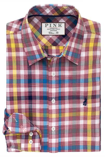 Thomas Pink 'Harris' check shirt