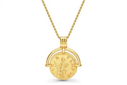 Roman Arc coin necklace by Lucy Williams x Missoma