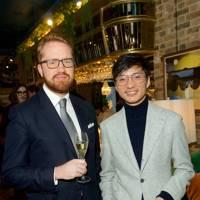 Conrad Quilty-Harper and Alfie Tong
