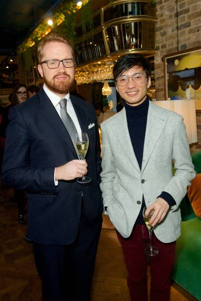 Conrad Quilty-Harper and Alfie Tong