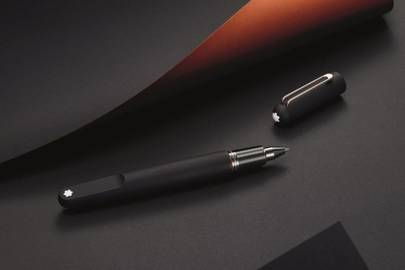 M Ultra Black pen by Montblanc