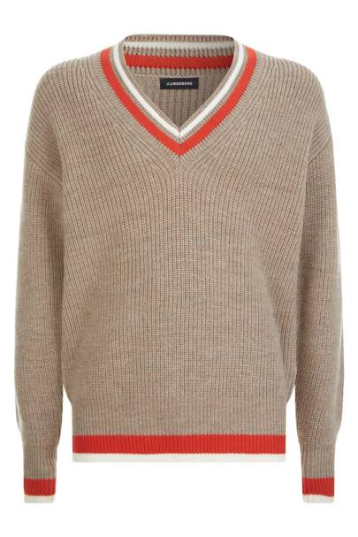 V-neck jumper by J Lindeberg