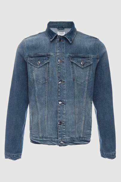 L'homme denim jacket by Frame