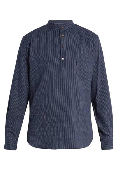 De Bonne Facture linen and cotton shirt