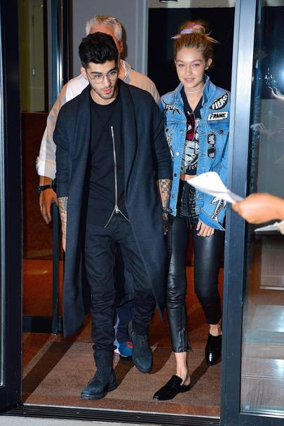 When 15 September 2016. Where Out with Gigi Hadid in New York City, USA