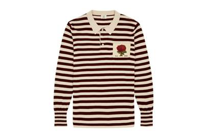 Kent & Curwen Striped Rugby Shirt