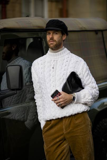 How to get the look  London Fashion Week Men s street style AW18 ... 7ad05e6df0e7