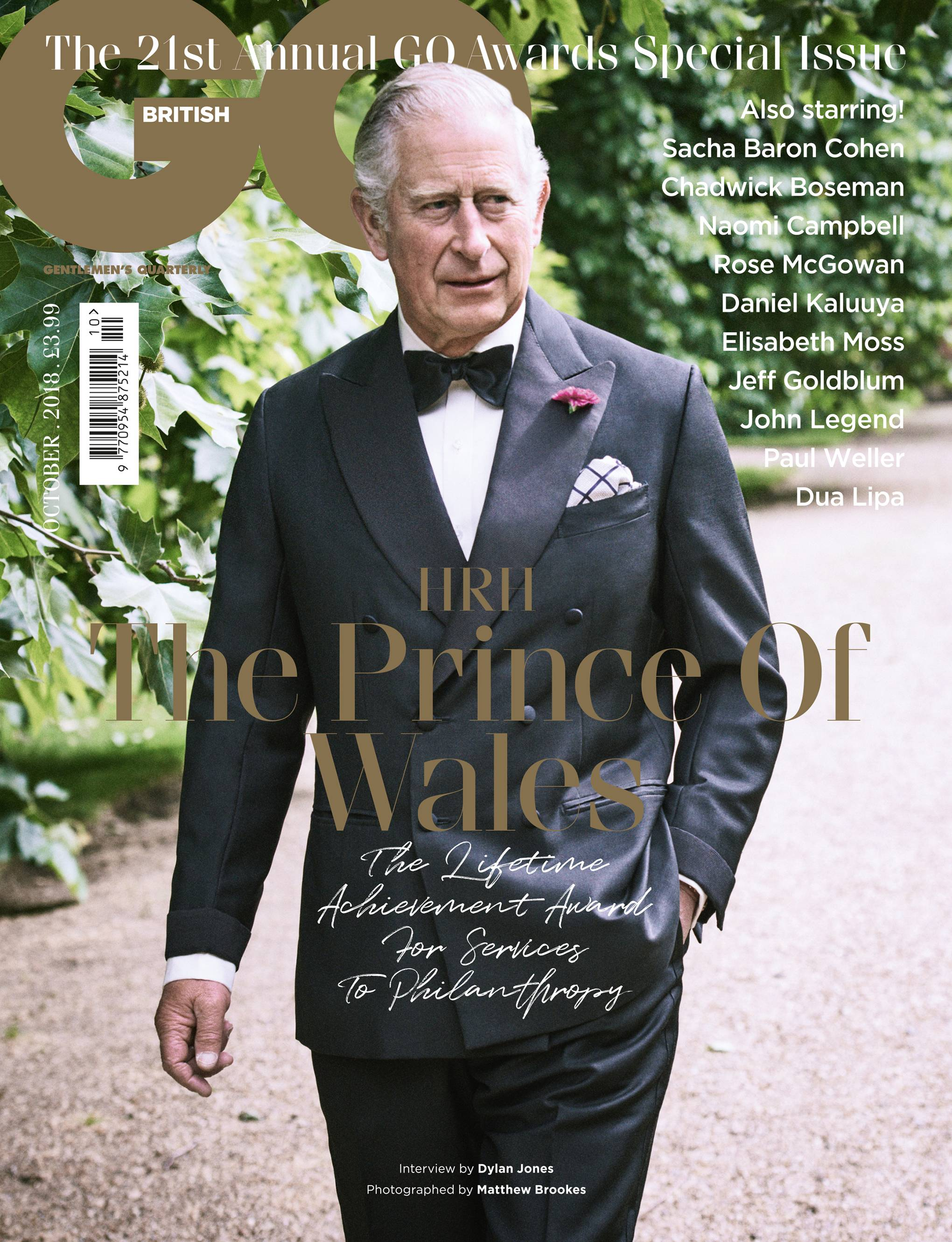 ccc66db35c0 Prince Charles GQ Awards interview 2018   My problem is I find there are  too many things that need doing or battling