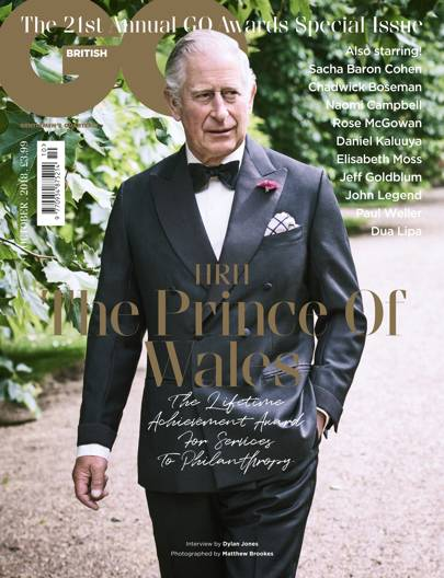 The Lifetime Achievement Award for Services to Philanthropy: HRH, The Prince Of Wales