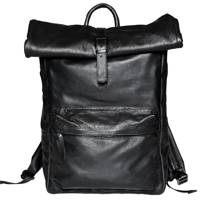 Leather Rollup Backpack Bag:4 by DELIKT