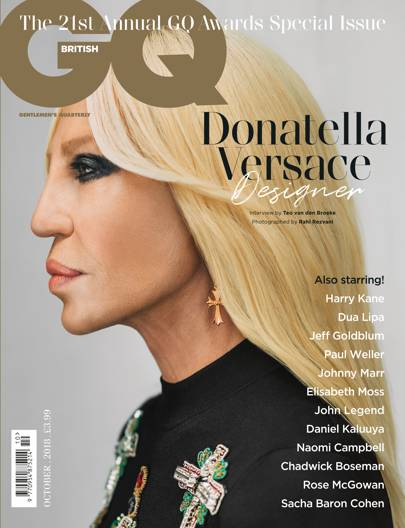 Designer of the Year: Donatella Versace