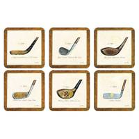 History of Golf Coaster Set