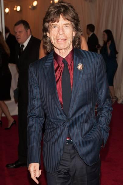 40. Sir Mick Jagger
