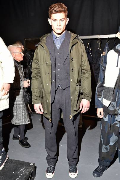eeb669f4a107 Nigel Cabourn Autumn Winter 2017 Menswear show report