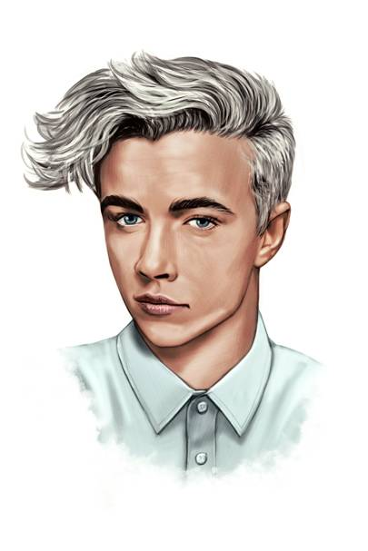 Lucky Blue Smith – The bleached sweep