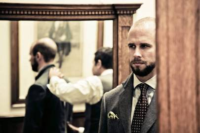 simon crompton of permanent style interview on suits british gq