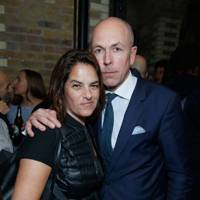 Tracey Emin and GQ Editor Dylan Jones