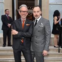 Patrick Cox and David Furnish