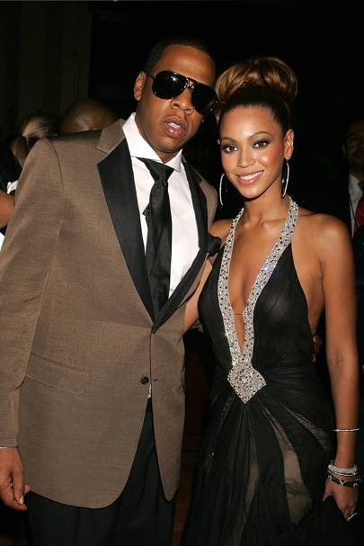 7. An iconic noughties look at the 48th Grammy Awards