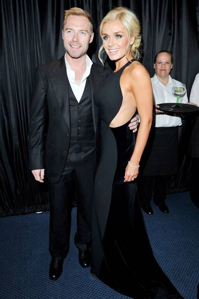 Ronan Keating and Katherine Jenkins