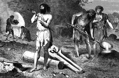 Iron Age (c. 750 BC)